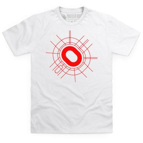 Luzhniki Stadium T Shirt, Male, White, 5XL