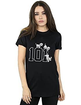 Disney mujer 101 Dalmatians 101 Doggies Camiseta Del Novio Fit