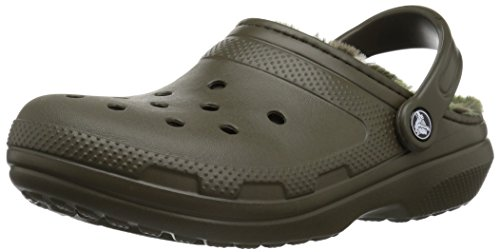 Sabot Crocs Classic Lined Graphic Clog MainApps Verde