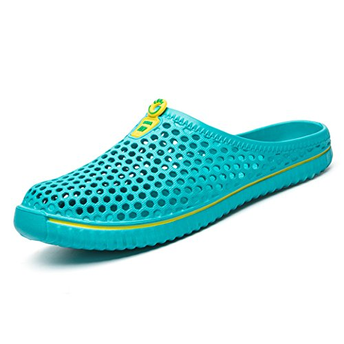 DoGeek Scarpe da Spiaggia Scarpe da Scoglio Unisex Scarpe Uomo/Donna Acqua Scarpe da Scoglio Water Shoes,Verde,36