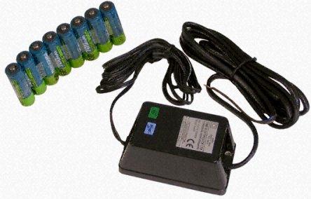 Time Electronics 9529 Akkupack (8 NiCad-Zellen + 230 V Netzladegerät)