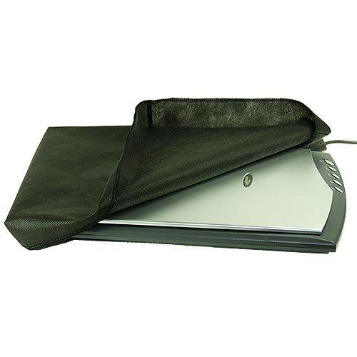 ROTRi reg; maßgenaue Staubschutzhülle für Flachbettscanner Epson Perfection V370 Photo - schwarz