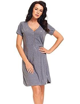 dn-nightwear Damen Umstandsnachthemd / Stillnachthemd ALINA