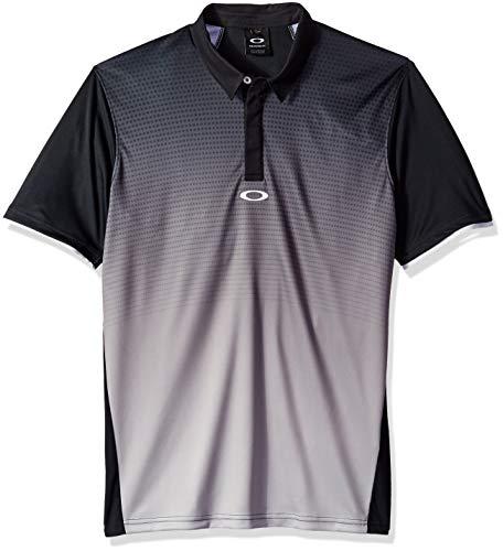 Oakley Herren Poloshirt Ss Po Mide - Schwarz - Mittel