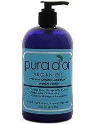 Pura d'or: après-shampoing bio de qualité supérieure (16fl. oz) par Vital de Groupe International [Beauté]
