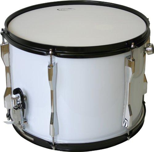 Knauer 14x10 Marching Snare Drum mit Gurt weiß