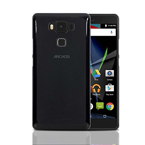 Archos Diamond 2 Plus Hülle, Ordica DE®, Diamond 2 Plus Case Gel Design Original Grey Zubehör TPU Silikon Dünn Cover