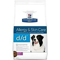 Hill's Pet Nutrition - Prescription Diet - d/d Disturbi della cute - Anatra e Riso 1 Sacco 12,00 kg