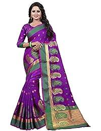 f38442653736d Ecolors Fab Cotton Silk Saree With Blouse Piece  (EC 1000 Kesar Series 2019 Sarees)