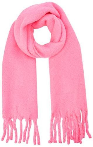 New Look Damen Boucle 6113481 Schal, Bright Pink 76, One size (Herstellergröße: 99) -