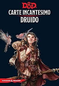 Asmodee Italia - Dungeons & Dragons 5a Edición Mapa Incantesimo Druido, Color, 4007