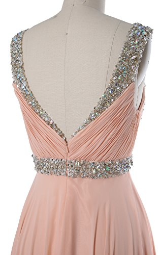 MACloth Women Crystals Straps Short Prom Homecoming Dress 2017 Formal Gown Royal Blue