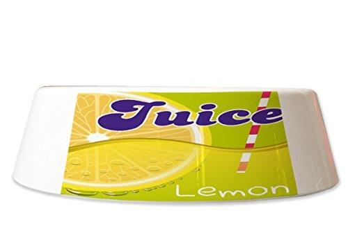 LEotiE SINCE 2004 Fress Futter Napf Retro Limonade Küche Zitronen Saft Bedruckt Küche Saft