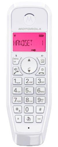Motorola Startac S1201 DECT Schnurlostelefon (Analog, Freisprechen, ECO-Modus, Displaybleuchtung auf Gerätefarbe abgestimmt) pink - 3