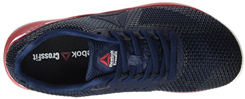 Reebok Crossfit Nano 7.0 Nation Pack, Chaussures de Fitness Femme Bleu (Collegiate Navy/Multicolore Primal Red/White/Black)