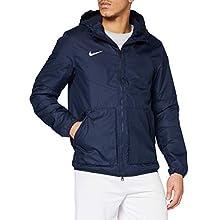 Nike Team Fall Jacket, Giacca Sportiva Uomo, Obsidian/Dark Obsidian/Bianco, XL