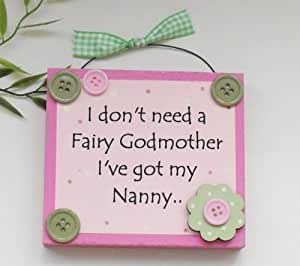 Nanny Fairy Godmother Gift