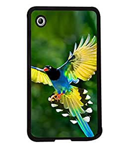 PrintVisa Designer Back Case Cover for Samsung Galaxy Tab 2 (7.0 Inches) P3100 (Bird flying nature yellow green)