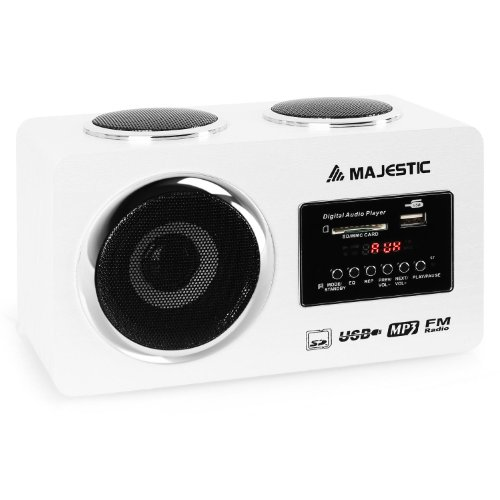 Majestic AH 173 sistema audio multimediale USB SD AUX bianco