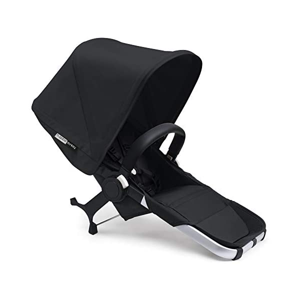 Bugaboo Donkey 2 Mono, 2 In 1 Pram and Pushchair, Extends Into Double Stroller, Black Bugaboo The Bugaboo stroller with the most storage space Extendable side luggage basket & large under-seat basket Convert into a double buggy for baby & toddler or a double pram for twins (extension sets sold separately) 4