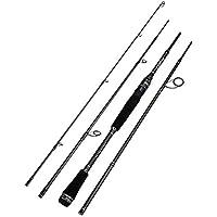 PUWEN Caña de Pescar portátil Luya Rod de Carbono para caña Recta con 6.5 pies (Color : Casting Fishing Rod, Size : 1.98m)