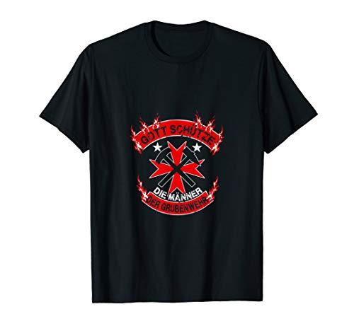 Bergbau - Shirt, Gott schütze die Männer der Grubenwehr, gebraucht gebraucht kaufen  Wird an jeden Ort in Deutschland