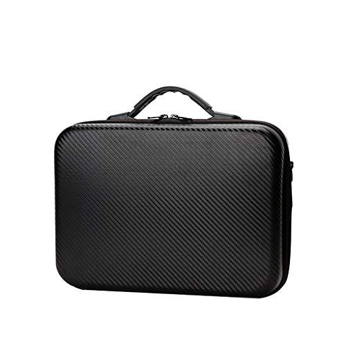 Yagii Spielmaschine Zubehör Schutzpaket PU Wasserdicht Harte Schale Koffer mit Slot und Grid Aufbewahrungstasche für Switch - Schwarz Grid Switch