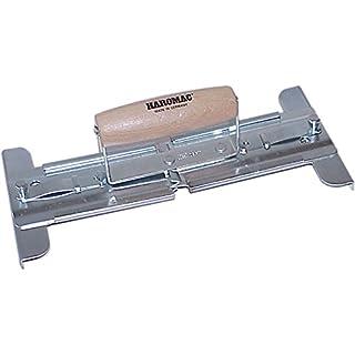 Haromac Plattenheber, stabile Ausführung bis 30 kg mit Holzgriff, 30-50 cm verstellbar, 07185050