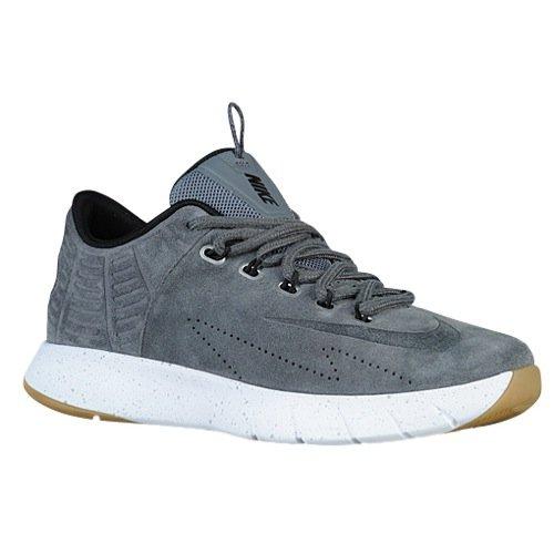 Nike Herren Lunar Hyperrev Low EXT Basketballschuhe, Grau/Schwarz Drk Gry-Mtllc SLVR-Blk, 42 EU