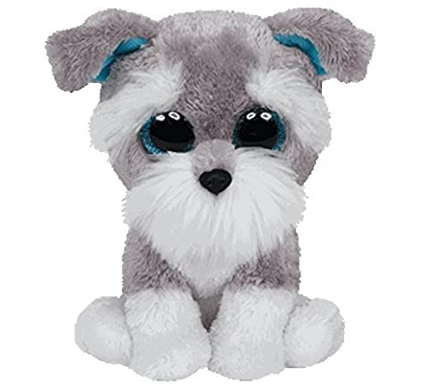 Ty Inc Beanie Boo Plush Stuffed Animal Whisker The Puppy Dog Medium by Ty Inc.