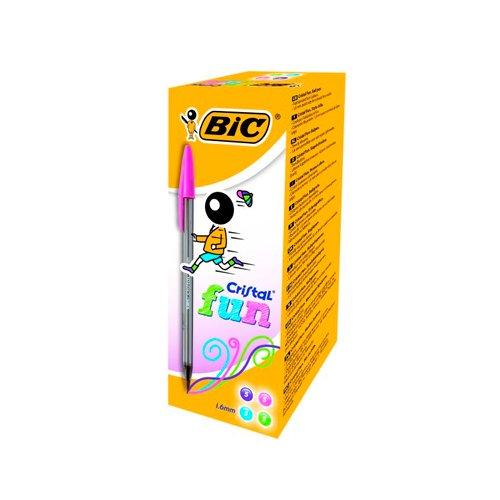 Bolígrafos Bic Cristal 1.6mm Colores surtidos