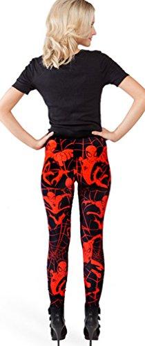 Thenice - Legging - Slim - Femme taille unique Spider-Man