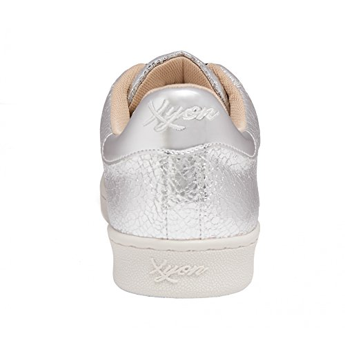 Xyon Revolution Zapatillas Deportivas Sneakers CON Cordones Las Vegas Argent