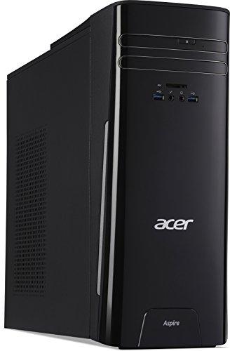 Acer Aspire TC (TC-780) Desktop PC (Intel Pentium G4400, 4GB RAM, 1000GB HDD, DVD, Intel HD Graphics, Win 10 Home) schwarz