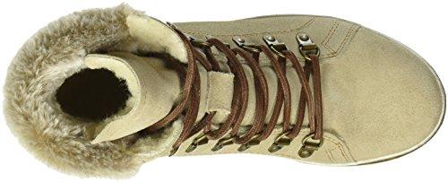 Tamaris Damen 262 Combat Boots Braun (Cashmere 371)