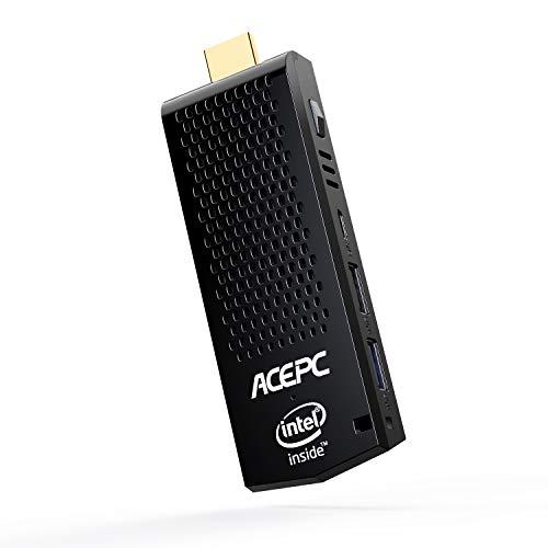 ACEPC Mini-PC-Stick Windows 10 Pro (64-Bit) 2GB RAM/ 32GB eMMC Intel Atom Z8350 Computer Stick, Unterstützung von 4K HD, Dual Band WLAN, USB 3.0, Bluetooth 4.2 64-bit-ram