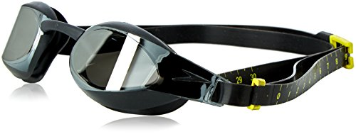 Speedo Fastskin 3 Elite Mirror Schwimmbrille, Black/Smoke, One size, 8-082108137ONESIZE