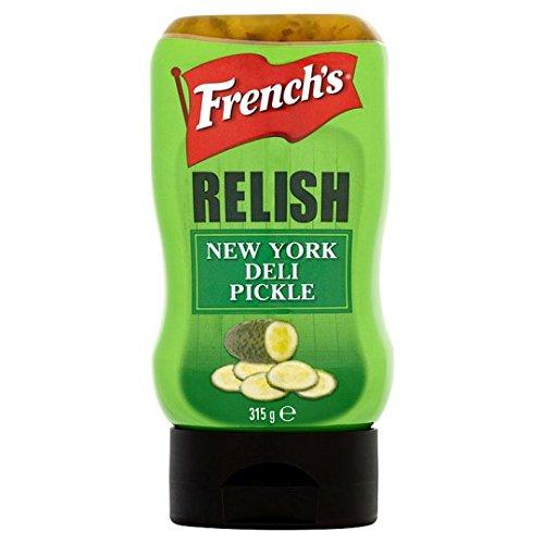 French's New York Deli Pickle Relish 315g Relish