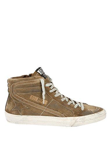 Golden Goose, Chaussures basses pour Homme Kaki