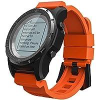 Notifiche Heart Rate Monitor Activity Passo Camminando per iOS Android Niuniuche Allarme Sonno Fitness Tracker Cardio Braccialetto Sport Bluetooth Unisex Activity Tracker,Cardiofrequenzimetro Contapassi Calorie Distanze