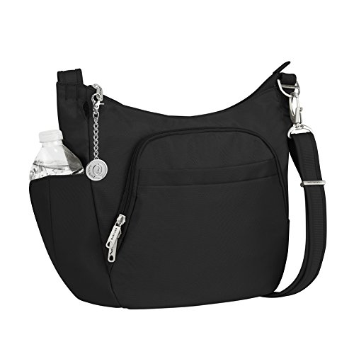 Travelon, Borsa a tracolla donna Black