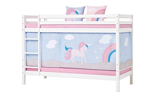 Tenda Tunnel Letto A Castello : Hoppe bambini letto a castello unicorn unicorno con tenda materasso