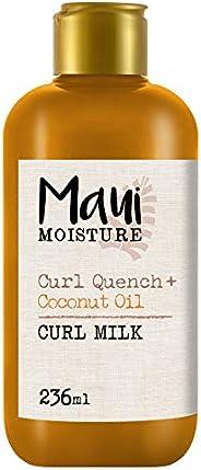 Maui Moisture Curl Quench + Coconut Oil, Curl Milk, 236 ml