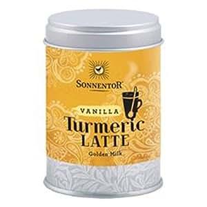 Sonnentor Org Turmeric Latte Vanilla Tin 60 g