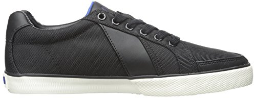 Polo Ralph Lauren Hugh Pique Nylon Fashion Sneaker Black