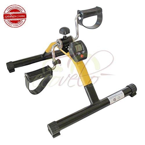 OFFERTA PEDALIERA MINI BIKE CYCLETTE con MONITOR LCD per FITNESS RIABILITAZIONE