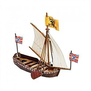 Clever Paper- Barca de Pedro el Grande Puzle 3D, Color Variado (18)