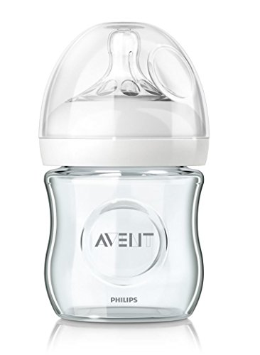Biberón de cristal natural, 120 ml / Philips Avent