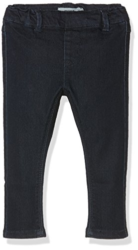 NAME IT NITTEA SKINNY DNM LEGGING MZ, Blu Bimbo 0-24, Blu (Dark Denim), 104