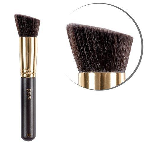 Gaya Cosmetics Pinceau de Maquillage pour la Femme Professionnelle pour le Fond de Teint et Poudre Contouring Multifonctionnel Vegan B8